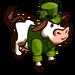 Leprechaun Cow-icon