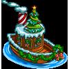 Santa Boat-icon