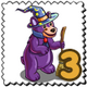 Wiz Bear Stamp-icon