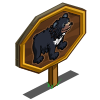 Asian Black Bear Mastery Sign-icon