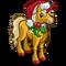 Santa Unicorn-icon