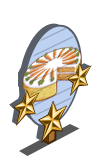 Carrot Cake 3 Star Mastery Sign-icon