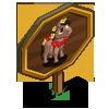 Hibiscus Mini Horse Mastery Sign-icon