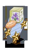 Iris Soap 3 Star Mastery Sign-icon