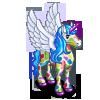 Multicolor Pegacorn-icon