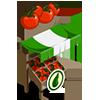 Organic Tomato Stall-icon