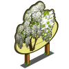 White Wisteria Tree Mastery Sign-icon