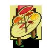 Autumn Umbrella Tree Mastery Sign-icon