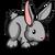 Gray Rabbit-icon