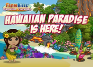 Hawaii Paradise Farm Loading Screen
