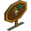 Leprechaun Squirrel Mastery Sign-icon