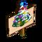 Mini Holiday Trees Mastery Sign-icon