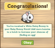 Baby Bunny Hutch Finished Share Reward