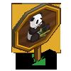 Bamboo Eating Panda Mastery Sign-icon