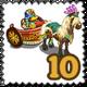Charriot Rider of Pompeii Stamp-icon