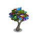 Colorful Teacup Tree-icon