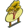 Giant Asian Rosewood Tree Mastery Sign-icon
