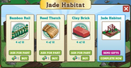 Jade Habitat Inside Building Materials Requirement