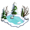 Snowy Swan Pond-icon