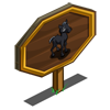 Black Stallion Foal Mastery Sign-icon