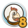Cluck Rogers Chicken in Space Quest 8-icon