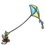 Duck with Kite-icon