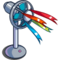 Fan with Ribbons-icon