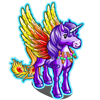 Golden Shimmer Pegacorn-icon