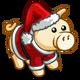 Santa Pig-icon