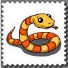 Snake Stamp-icon