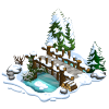 Snowy Bridge-icon