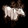 White Reindeer-icon