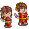 Ancient Thai Couple-icon