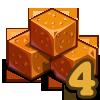 Caramel Cube-icon