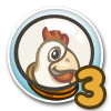 Cluck Rogers Chicken in Space Quest 3-icon