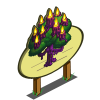 Dark Candle Tree Mastery Sign-icon