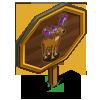 Flower Antler Buck Mastery Sign-icon