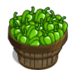Green Pepper Bushel-icon