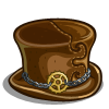 Leather Top hat-icon