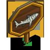 Leopard Shark Mastery Sign-icon