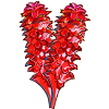 Red Ginger Flower-icon