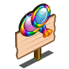 Magnifying Lollies Mastery Sign-icon