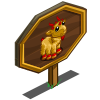 Baby Space Goat Mastery Sign-icon