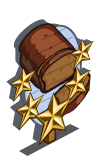 Pumpkin Bread 5 Star Mastery Sign-icon