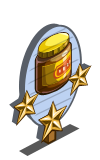 Vegespread 3 Star Mastery Sign-icon