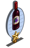Zinfandel Wine 1 Star Mastery Sign-icon