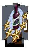 Blackberry Wine 5 Star Mastery Sign-icon