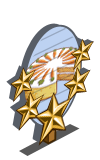 Carrot Cake 5 Star Mastery Sign-icon