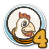 Cluck Rogers Chicken in Space Quest 4-icon