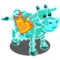 Flaming Heart Ice Cow-icon